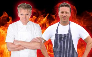 jamie oliver and gordon ramsey