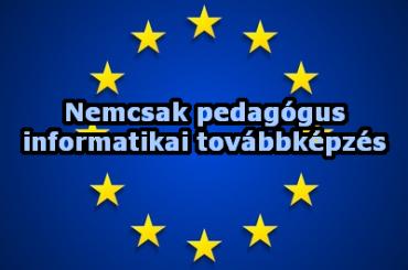 Ingyenes EU támogatott továbbképzés nemcsak pedagógusoknak